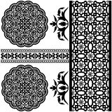 Islamic pattern. Vector of different Islamic pattern on white backgraund Royalty Free Stock Photography