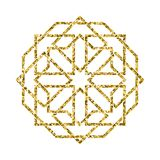 Vector islamic golden pattern Royalty Free Stock Photography