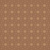 Islamic pattern | Wooden. An Islamic pattern in cut out wood Royalty Free Stock Photos