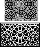 Islamic patterns Royalty Free Stock Photos