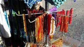 Islamic Prayer Beads in Shop royalty free stock photos
