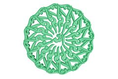 Islamic Prayer Symbol #22 Stock Images