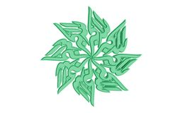 Islamic prayer symbol Stock Image