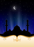 Islamic Ramadan Background Stock Photography