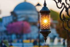 Islamic ramadan lantern in Istanbul, Turkey Stock Image