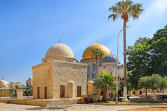 Islamic religious buildings at Temple Mount, Old City of Jerusalem, Israel Stock Image