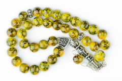 An islamic rosary bought in Turkey. As souvenir Royalty Free Stock Photos