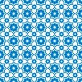 Islamic seamless pattern. Blue islamic seamless pattern, islamic background Stock Photography