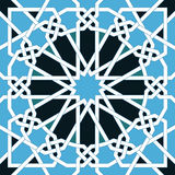 Islamic seamless pattern. Oriental geometric ornaments, traditional arabic art. Muslim mosaic. Mosque decoration element Stock Images