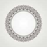 Islamic seamless pattern. Simple frame pattern, simple rounded border Royalty Free Stock Image
