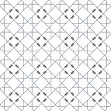 Islamic seamless vector pattern. Geometric ornaments based on traditional arabic art. Oriental muslim mosaic. Turkish. Arabian, Moroccan design on a white Stock Image