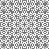 Islamic seamless vector pattern. White Geometric ornaments based on traditional arabic art. Oriental muslim mosaic Royalty Free Stock Images