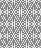 Islamic seamless vector pattern. White Geometric ornaments based on traditional arabic art. Oriental muslim mosaic Stock Images