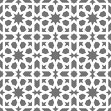 Islamic seamless vector pattern. White Geometric ornaments based on traditional arabic art. Oriental muslim mosaic Stock Photo