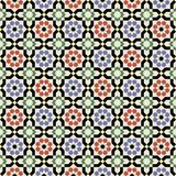 Islamic shapes seamless pattern Stock Photography