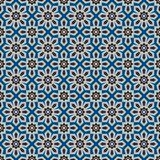 Islamic shapes seamless pattern Royalty Free Stock Images