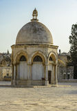 Islamic Shrine in old city of Jerusalem Stock Image