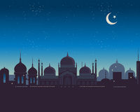 Islamic skyline Stock Images