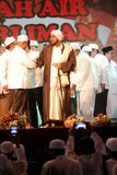 Islamic spiritual leaders. Held a meeting in the city of Solo, Central Java, Indonesia Stock Photography