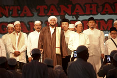 Islamic spiritual leaders. Held a meeting in the city of Solo, Central Java, Indonesia Stock Photos