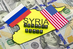 Islamic State, Russia and the United States Royalty Free Stock Image