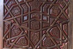 Islamic style door Stock Photos