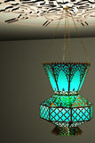 Islamic style lantern. Vintage style lamp royalty free illustration