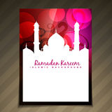 Islamic template vector Stock Photography