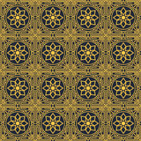 Islamic themed seamless pattern stock photography