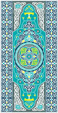 Islamic Vector Art. Traditional Middle Eastern Colorful Islamic Vector Ornaments Royalty Free Stock Images