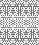 Islamic vector geometric ornaments, traditional arabic art. Oriental seamless pattern. Turkish, Arabian, Moroccan tile Stock Photo