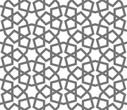 Islamic vector geometric ornaments, traditional arabic art. Oriental seamless pattern. Turkish, Arabian, Moroccan tile Stock Image