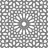 Islamic vector geometric ornaments, traditional arabic art. Oriental seamless pattern. Turkish, Arabian, Moroccan tile Stock Photography