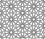 Islamic vector geometric ornaments, traditional arabic art. Oriental seamless pattern. Turkish, Arabian, Moroccan tile. Islamic seamless vector pattern stock illustration