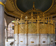 Islamic washstand Royalty Free Stock Images