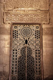 Islamic window ornament of Sultan Rifa'i Mosque Royalty Free Stock Image