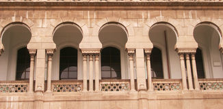 Islamic windows Stock Image