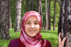 Islamic woman royalty free stock photo