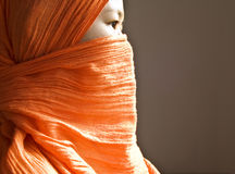 Islamic woman stock image