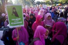 Islamic women activists Stock Image