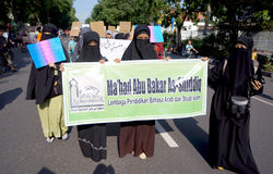 Islamic women Royalty Free Stock Photography