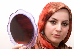 Islamic young woman Stock Photography
