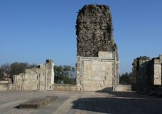 Islamik, историческое, архитектура, asharfi mahal, mandu, Madhya Pradesh, Индия Стоковая Фотография RF
