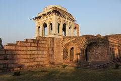 Islamik, историческое, архитектура, asharfi mahal, mandu, Madhya Pradesh, Индия Стоковое Фото