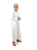 Islamique priez le plein serie d'explication images libres de droits