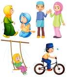 islamisch stock abbildung