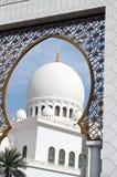 Islamische Architektur der Moscheen stockfoto