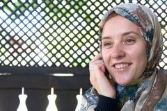 Islamische Frau Stockfoto