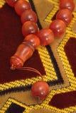 Islamische Gebets-Perlen Stockbild
