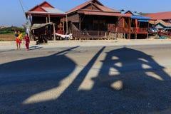 Islamische Ikone im Dorf von Siem Reap Lizenzfreie Stockbilder